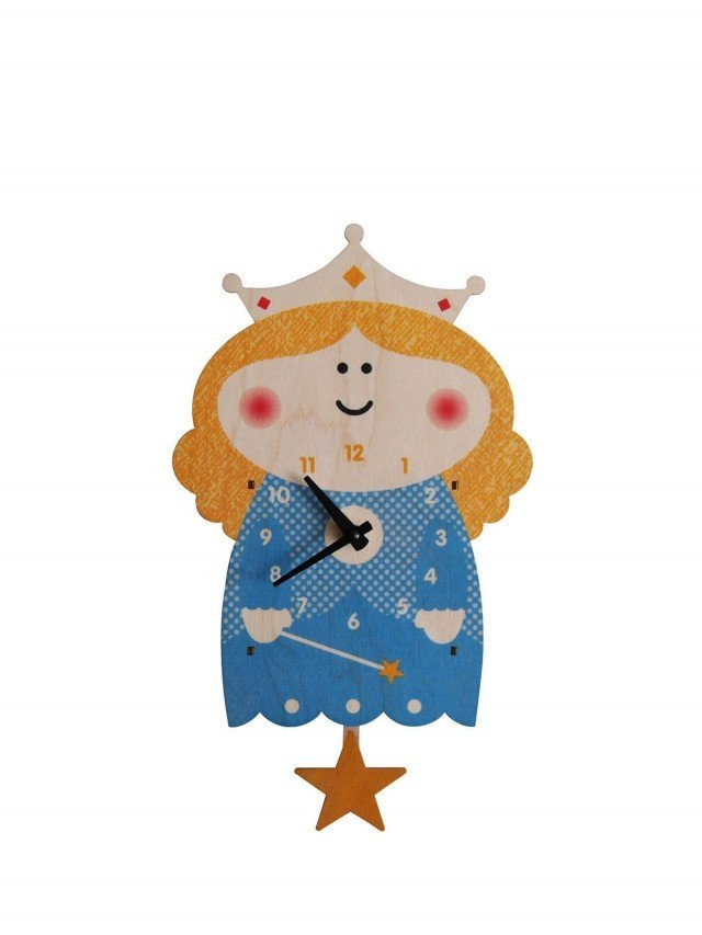 modern moose 公主 3D 立體擺鐘