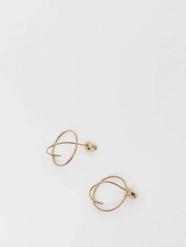 Lélim Jewelry 耳環 GOLD PLANET EARRINGS