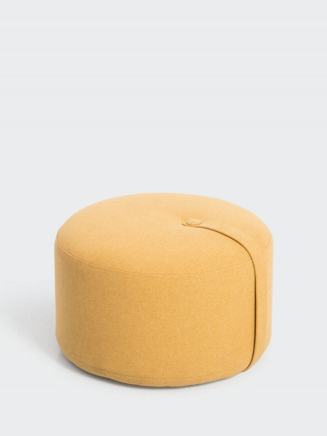 DESIGN BITE 泡芙座椅 - 檸檬黃