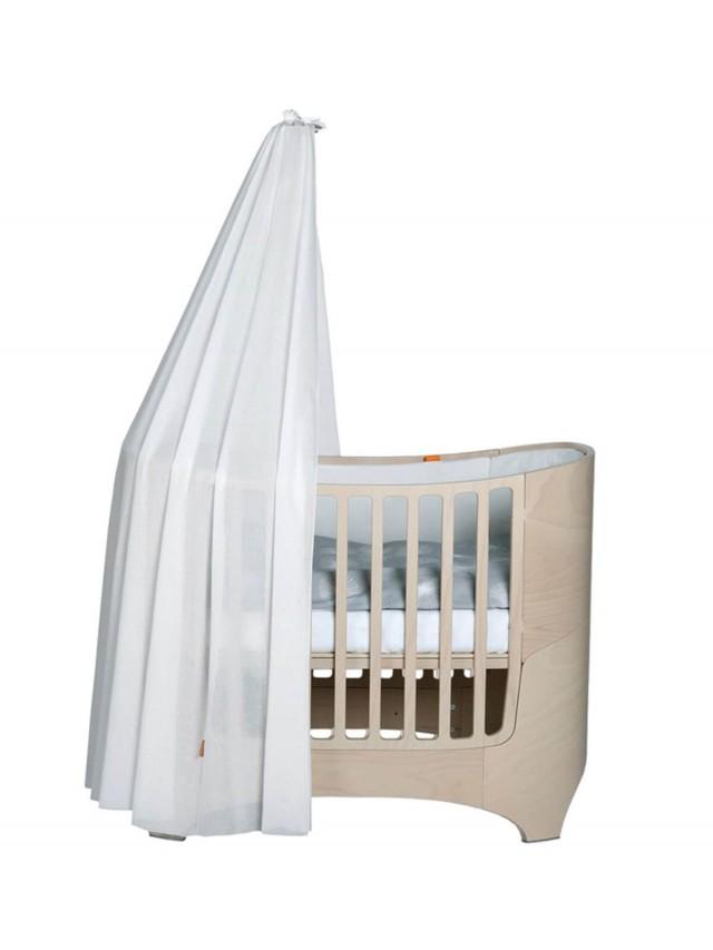 Leander 嬰兒成長床配件 - 罩蓬 x 白色