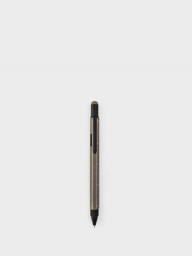 TROIKA 多功能工具筆 - 拉絲古銅色