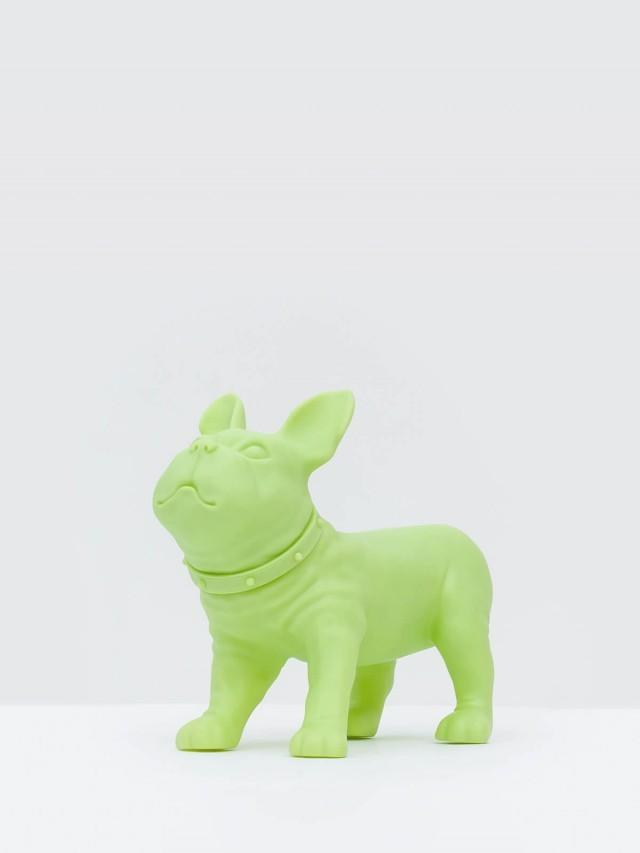 iEgoArt 鬥牛犬裝飾 - 蘋果綠