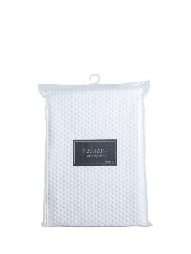 PAMABE 竹纖維防水尿布墊 經典白 - 70 x 130 cm