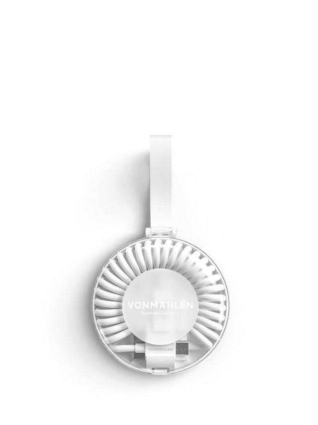 VONMÄHLEN 甜甜圈多合一充電傳輸線 - 白色