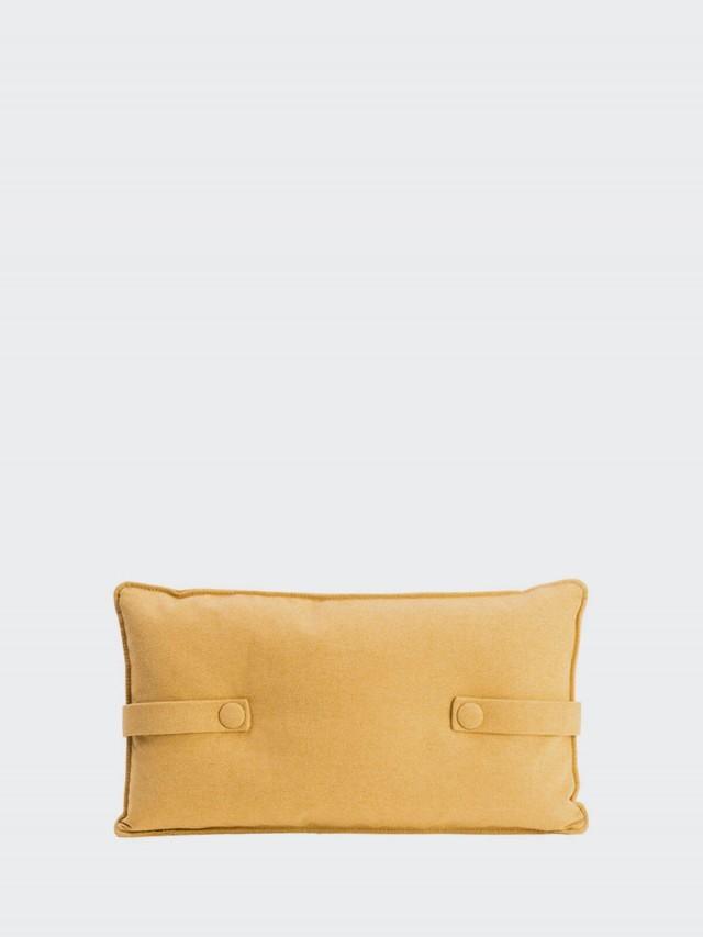 DESIGN BITE 抱枕 - 檸檬黃