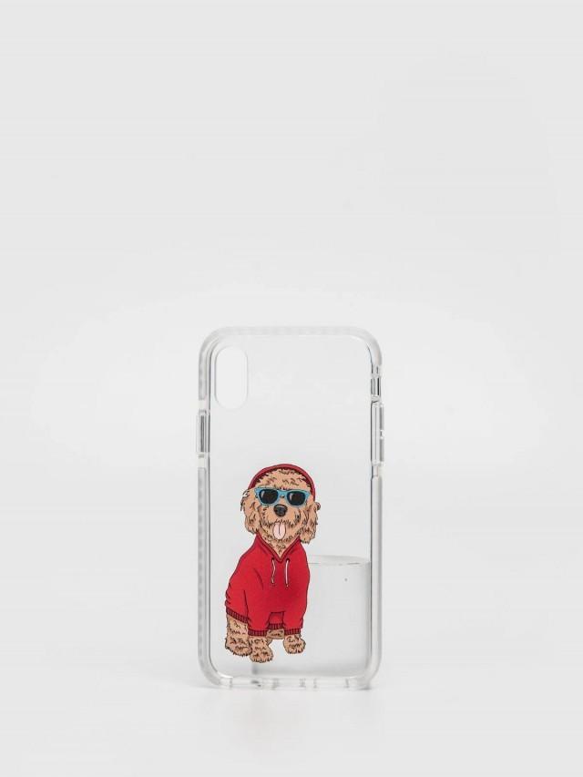 CASETiFY iPhone X 嘻哈可卡貴賓犬手機殼