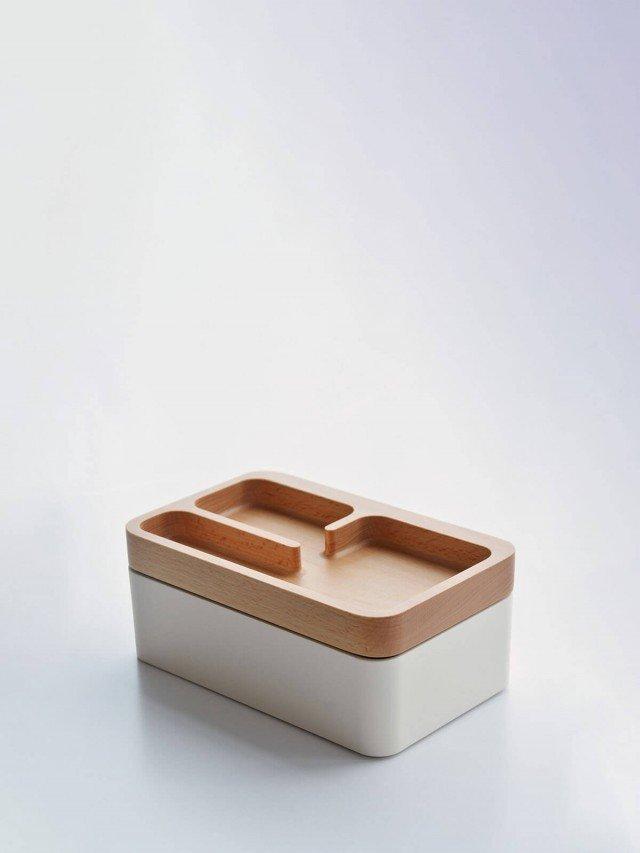 mordeco 轉轉置物盒 - 淺色