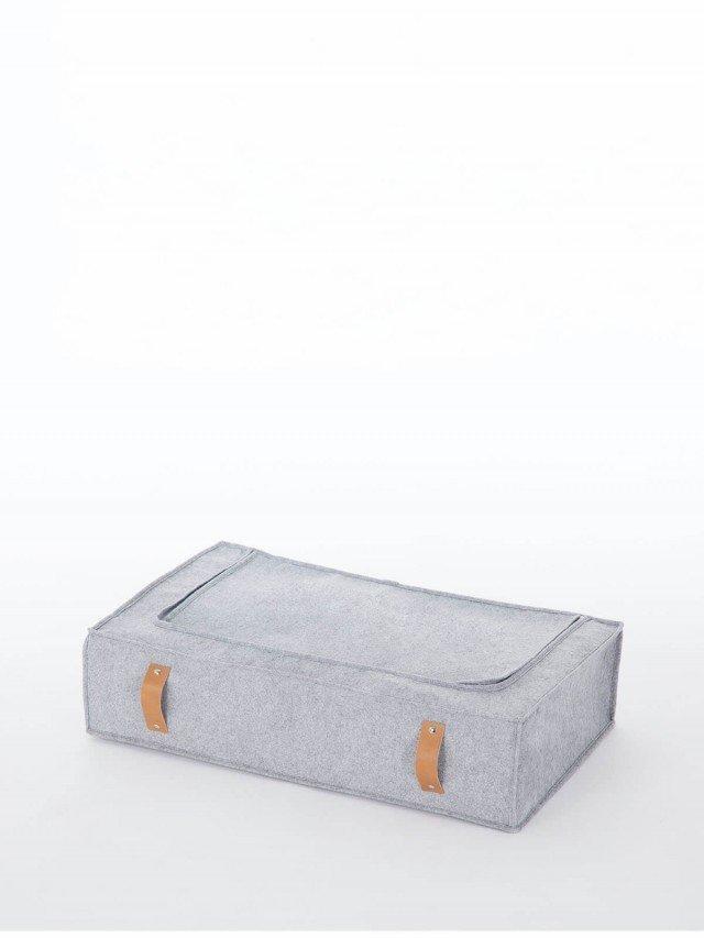 Roommate 羊毛氈收納拉鍊袋 - 灰色