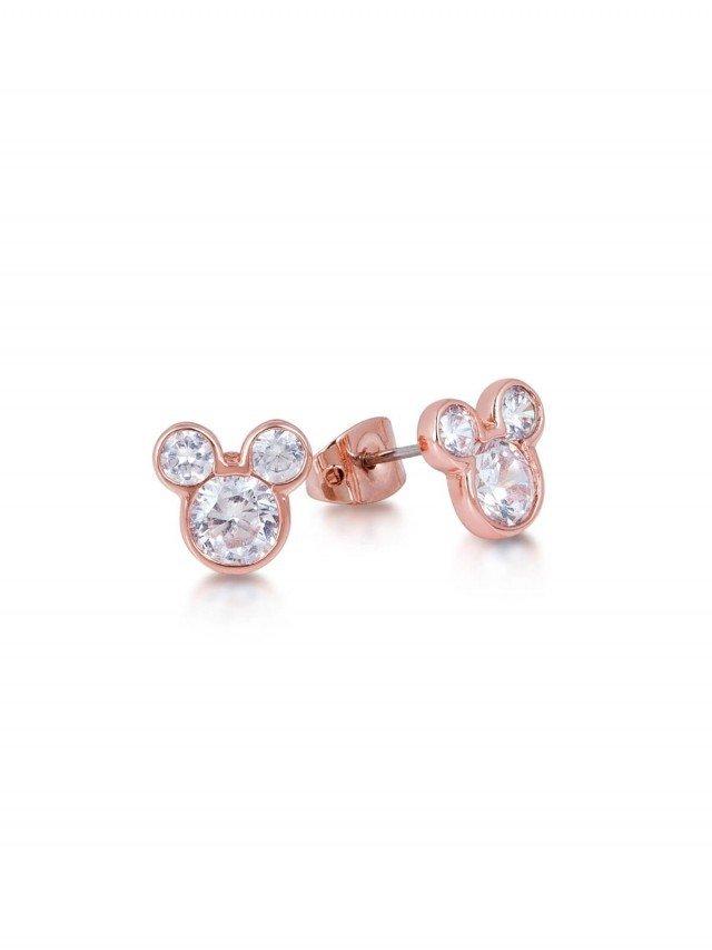 COUTURE KINGDOM Disney Jewellery 米奇水晶耳釘 x 玫瑰金