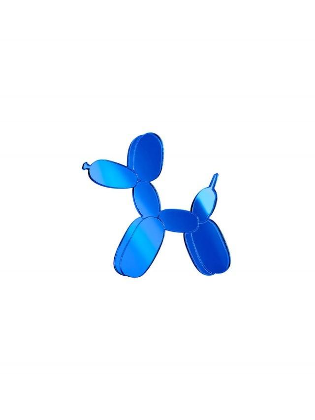 MONOLAMA 鏡面反光材質氣球狗別針 - 深藍