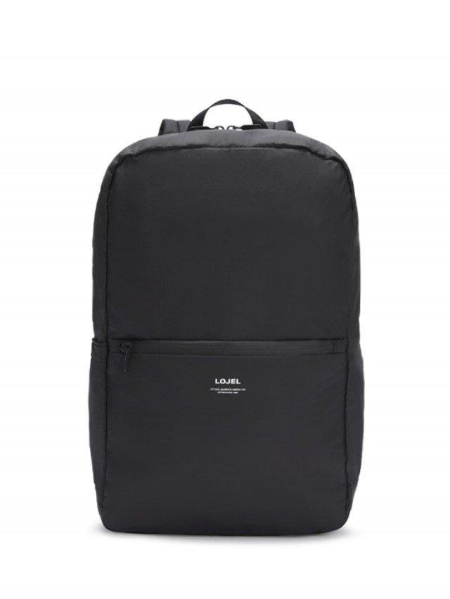 LOJEL Slash 日常 / 旅行摺疊後背包 - 黑色