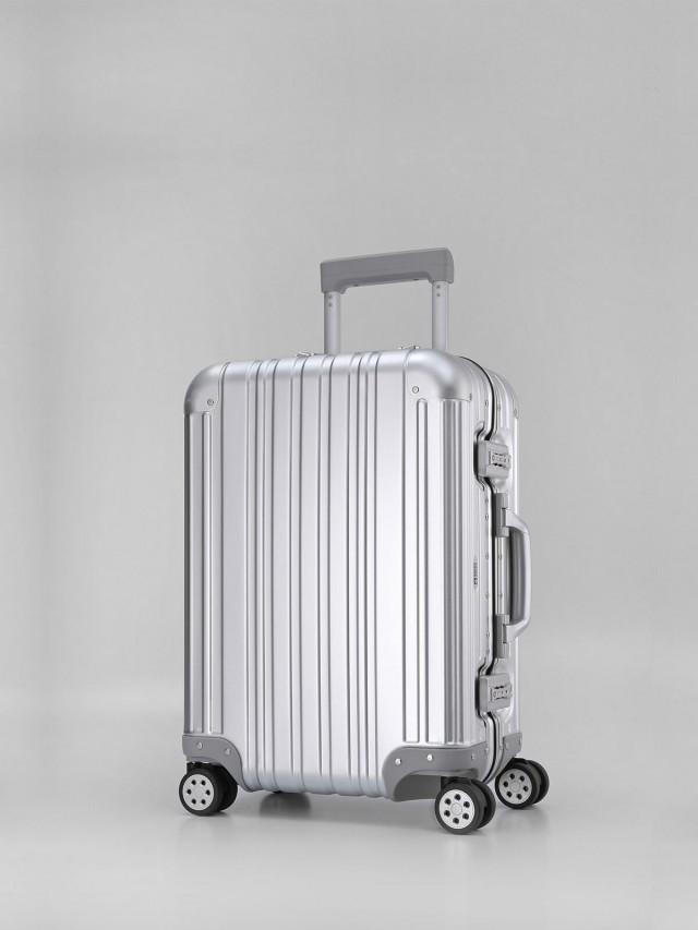 Swiss Style 極緻奢華鋁鎂合金行李箱 - 20 吋 / 時尚銀