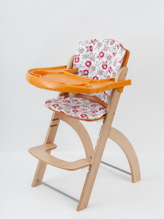 Pali Pappy Re 兒童成長餐椅 - 橘色 / 全配