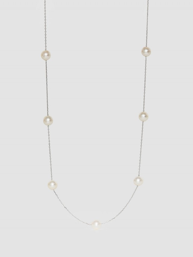 ASAHI JEWELRY Japanesesea Pearl Necklace 優雅真珠項鍊