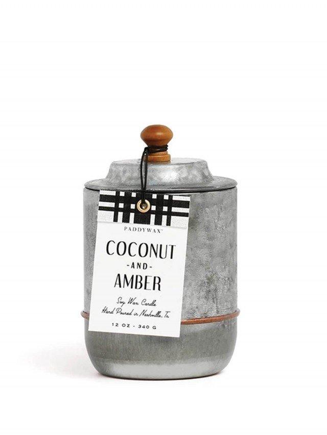 PADDYWAX Homestead 系列 香氛蠟燭 Coconut & Amber 椰子琥珀 340g