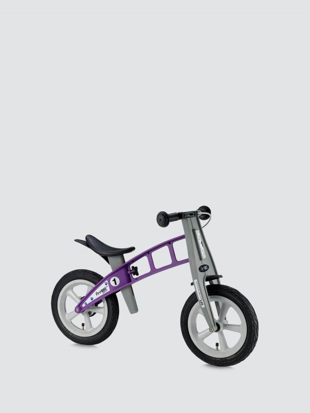 FirstBIKE 兒童滑步車 / 平衡車 - 街頭薰衣草紫 / 附煞車