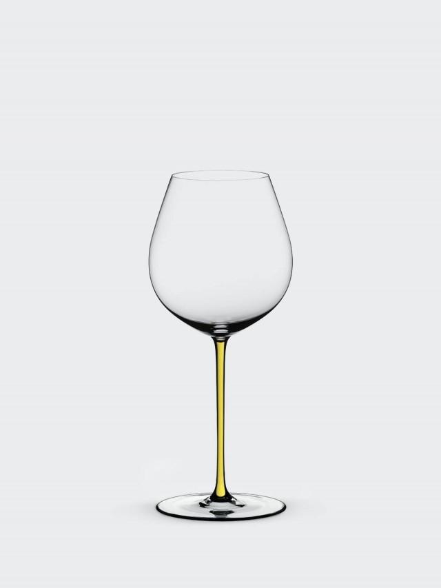 RIEDEL FATTO A MANO - Old World Pinot Noir 黑皮諾手工彩色杯梗紅酒杯 - 黃