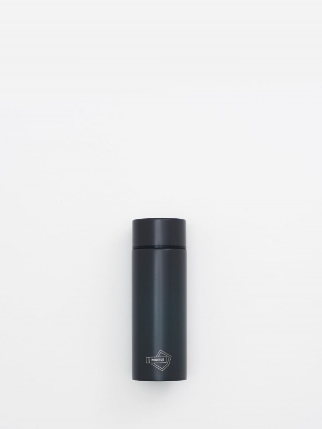 POKETLE 極致輕便保溫瓶 S ( 煤炭灰 ) 120 ml