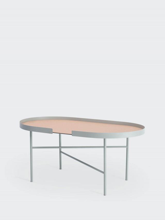 DESIGN BITE 橢圓桌 - 象牙白