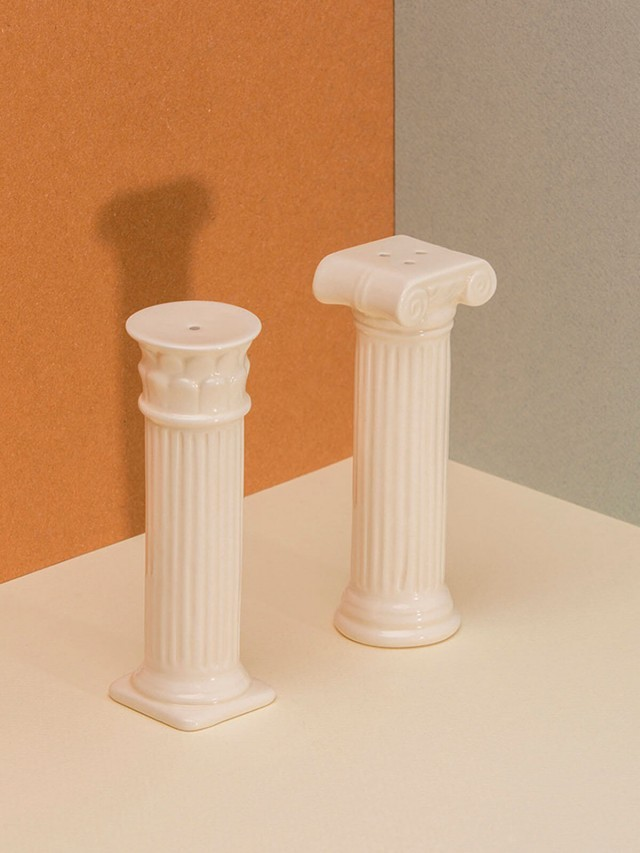 DOIY Hestia Salt & Pepper shakers columns White 羅馬柱 - 胡椒鹽罐組