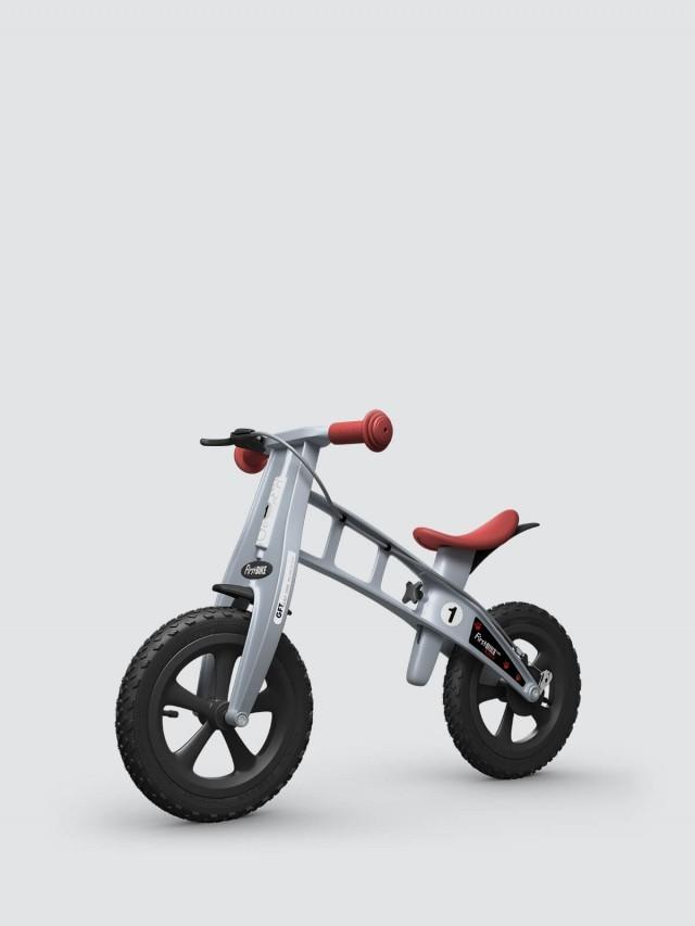 FirstBIKE 兒童滑步車 / 平衡車 - 越野銀 / 附煞車