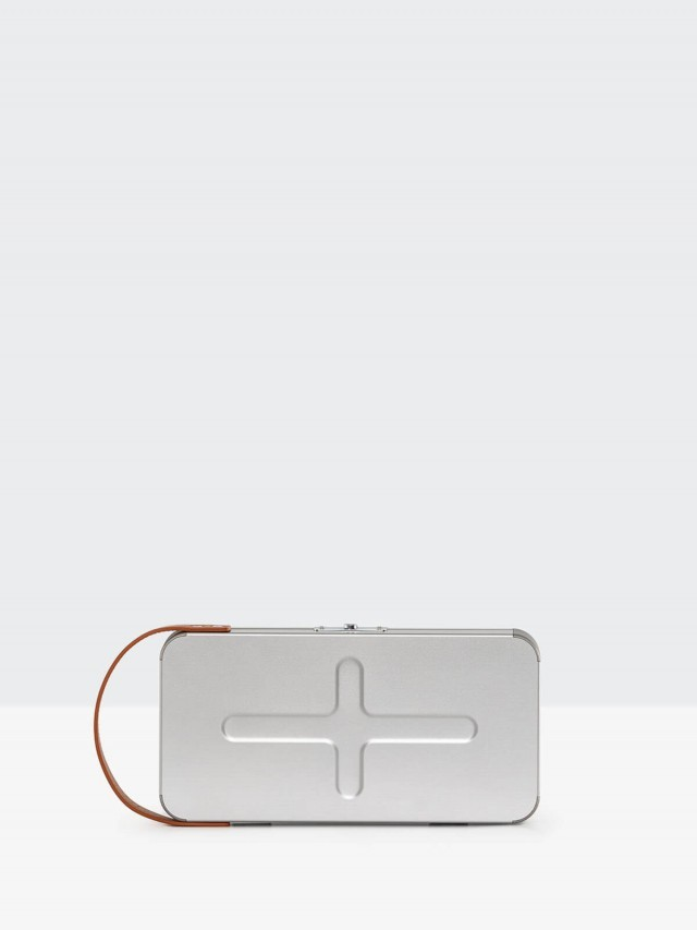 KONSTELLA 超輕量鋁合金隨身置物包 - 銀