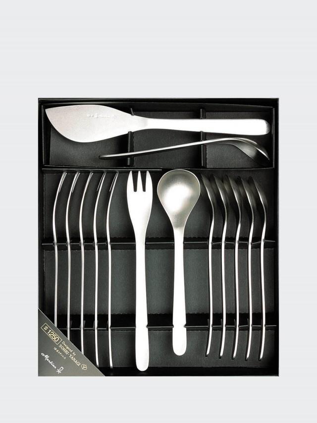 柳宗理 不銹鋼水果餐具組 14 件組