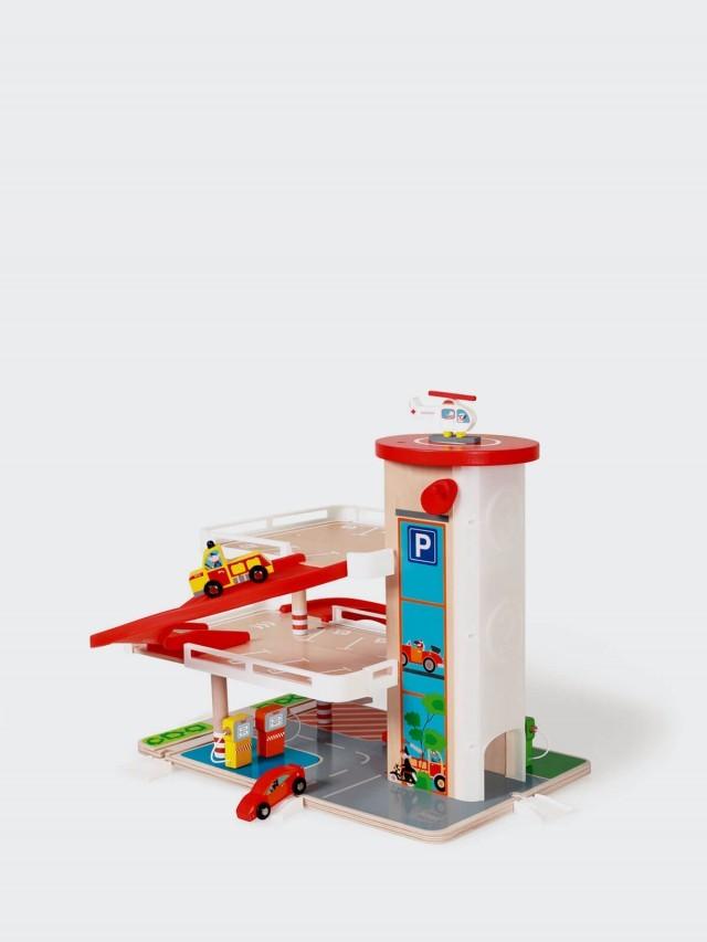 Scratch EUROPE 加油站立體停車場