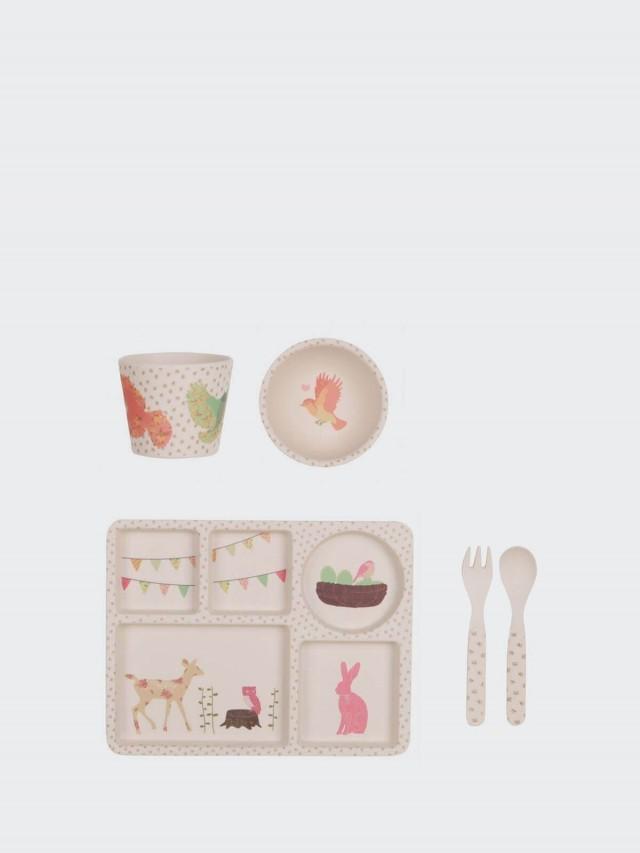 love mae 竹纖維餐具 5 件組 - 午茶時光