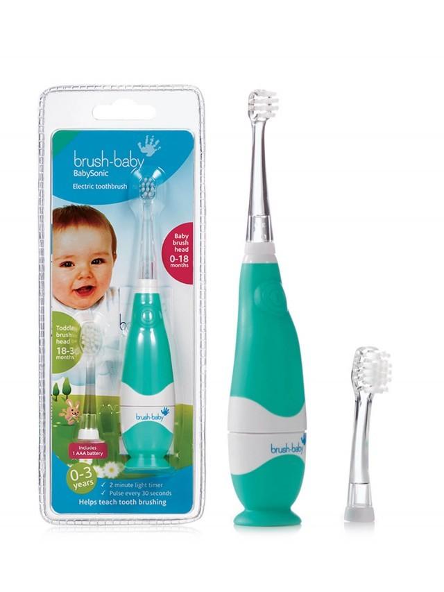 brush-baby 嬰幼兒聲波電動牙刷 x 0-3 y