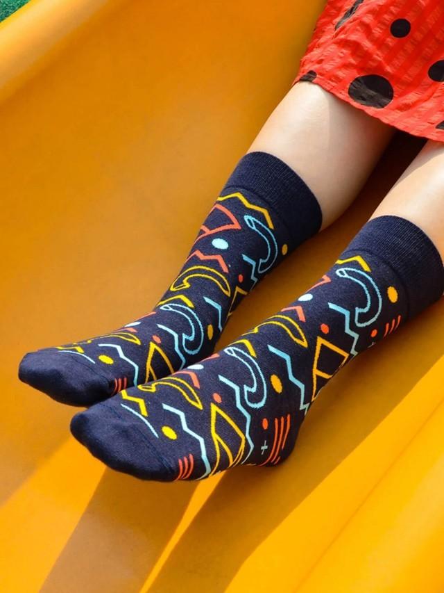 sokker 黑夜迷航 4 分之 3 襪