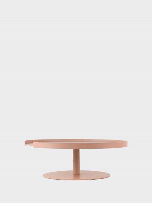 DESIGN BITE 單層蛋糕架 - 珊瑚粉