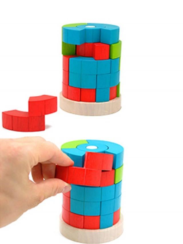 LOGIQ TOWER 3D 益智積木拼圖