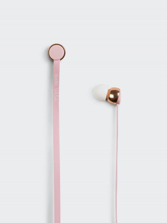 sudio VASA 耳道式扁線耳機 - iOS 專用 / 粉