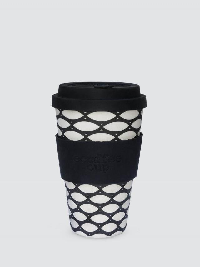 ecoffee cup 14 oz 環保隨行杯 x 竹編黑