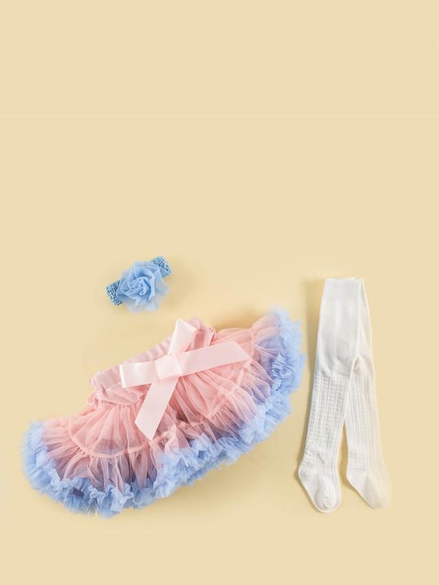 日安朵朵 女嬰童蓬蓬裙禮盒組 - My Princess 氣質小公主 / 粉紅沙灘