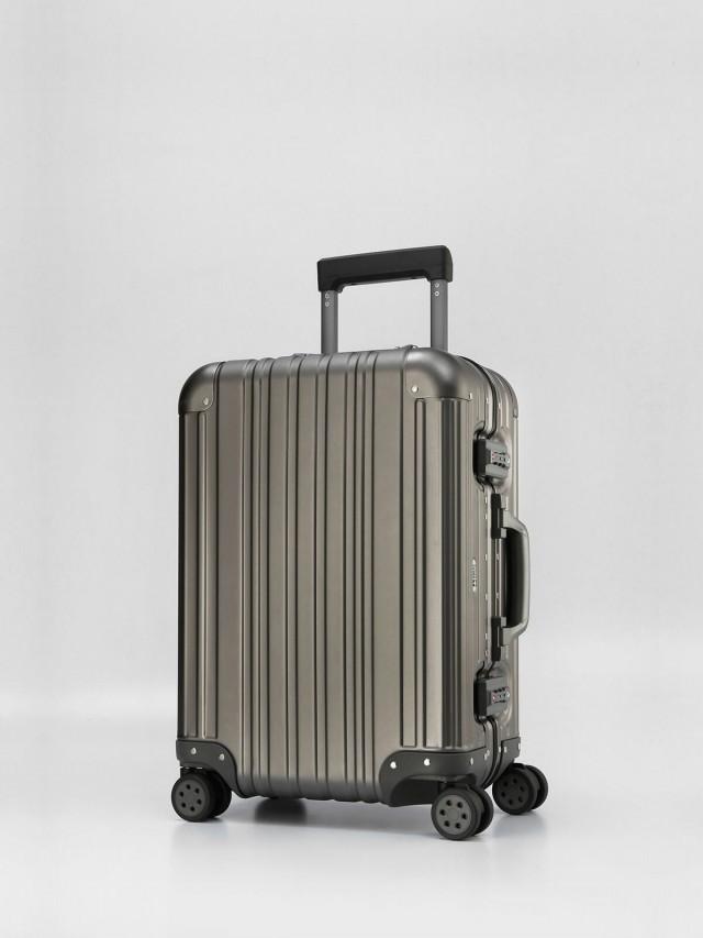 Swiss Style 極緻奢華鋁鎂合金行李箱 - 20 吋 / 鐵灰色