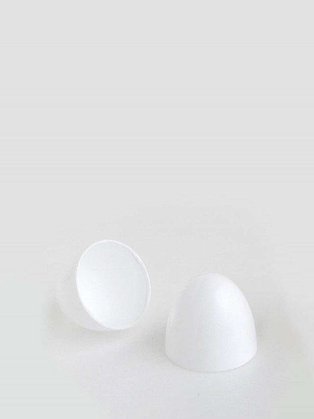 BIBS COLOUR 安撫奶嘴 專用奶嘴蓋 收納盒 - 白色