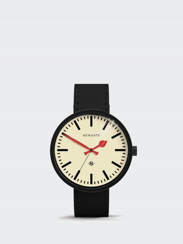 NEWGATE DRUMMER - 義大利皮革錶帶 - 經典英倫 / 50mm
