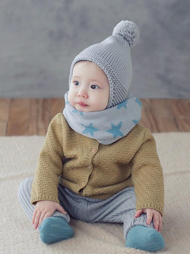 HAPPY PRINCE 小精靈嬰童配件禮盒組 - 白
