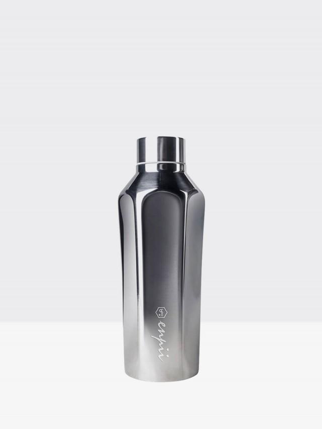 BOII 本因保溫瓶 450ml - 經典銀