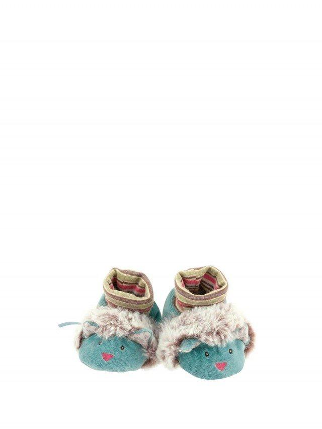 Moulin Roty 帕奇寶寶專用飽暖鞋套禮盒組 0 - 6 個月