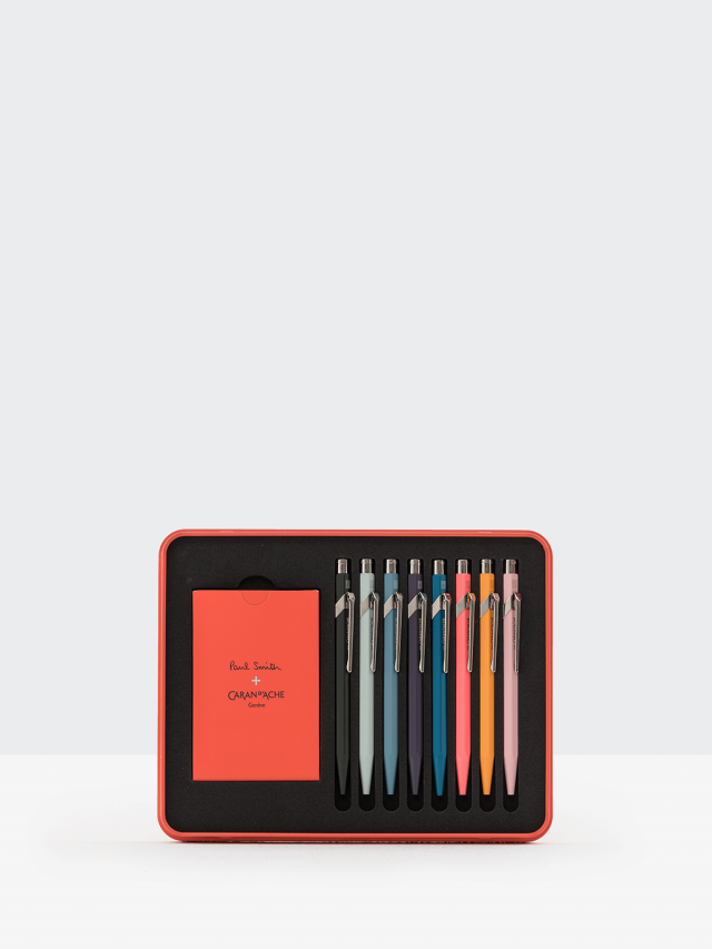 CARAN D'ACHE 849 Paul Smith II - 8 色組