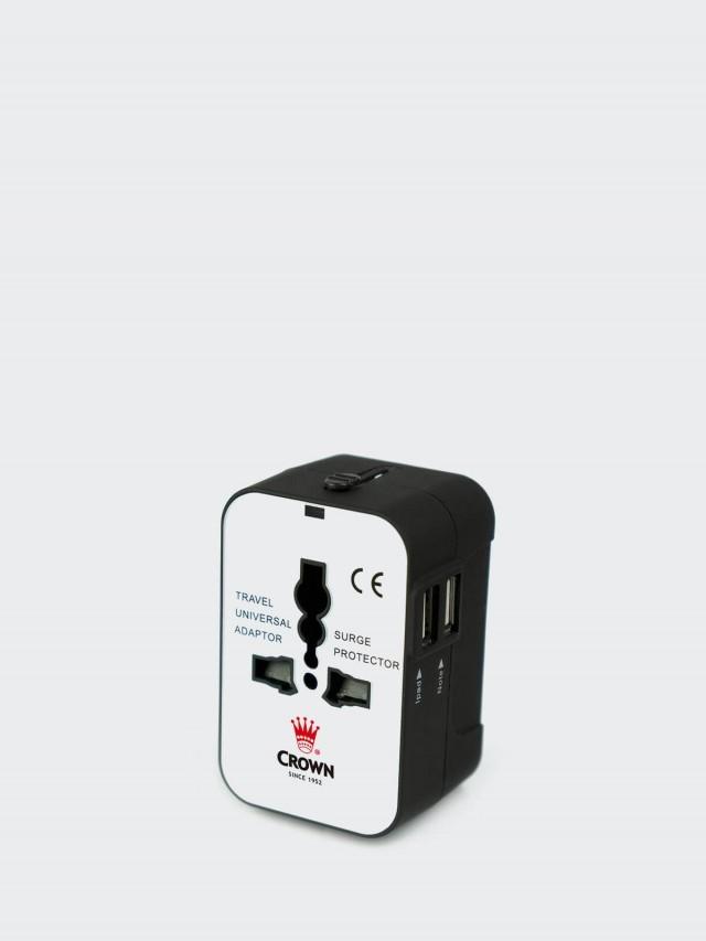 CROWN USB 萬用轉接頭