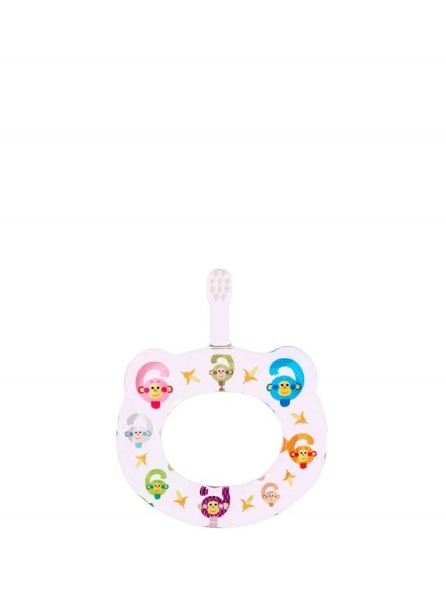 HAMICO 寶寶顧齒牙刷 - 月份 6 猴子