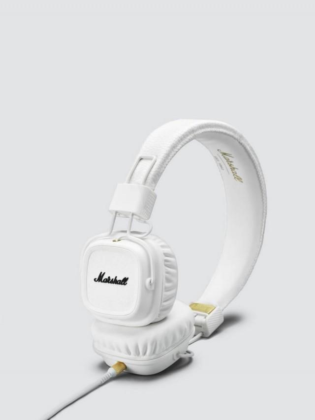 Marshall 英國 Marshall Major II 耳罩式麥克風耳機 - 羽翼白