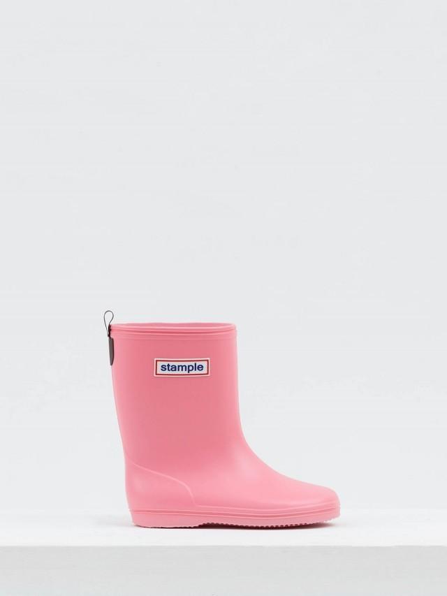 stample 日本製兒童雨鞋 - 粉紅馬卡龍