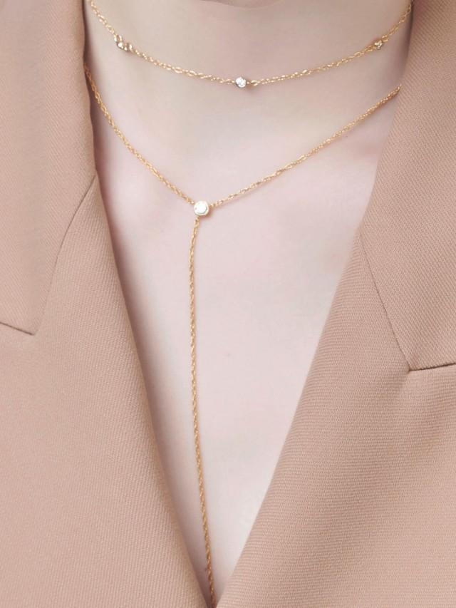 LESIS 項鍊 - Y Necklace