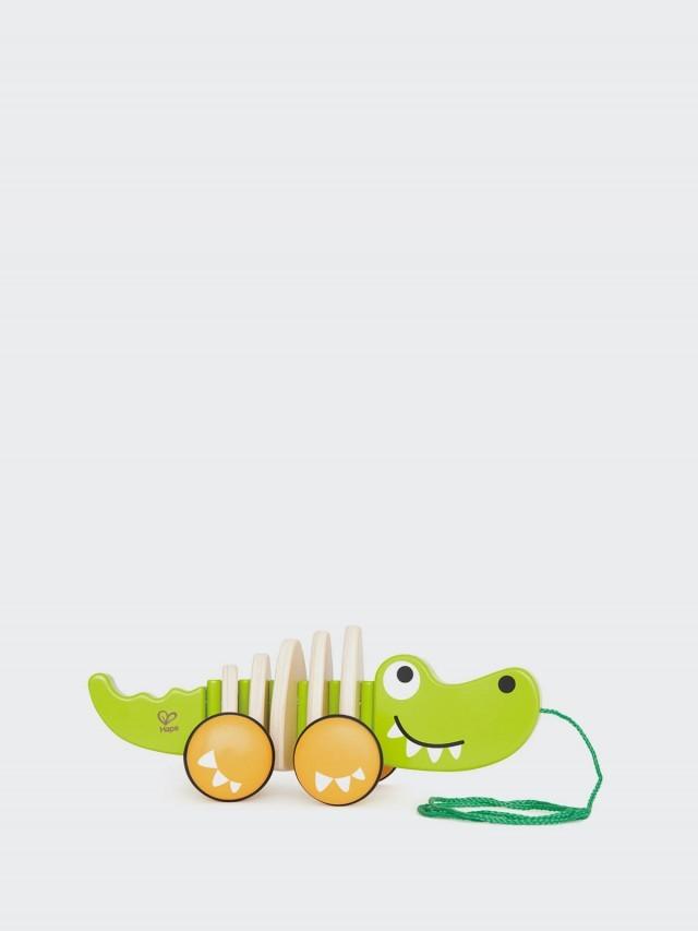 Hape 鱷魚拉車