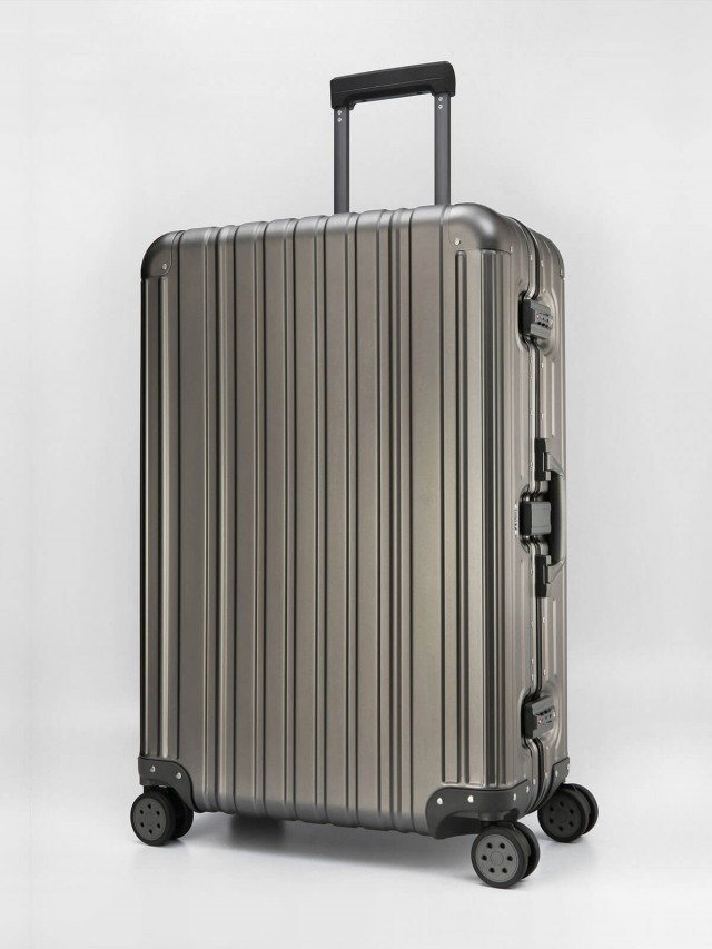 Swiss Style 極緻奢華鋁鎂合金行李箱 - 29 吋 / 鐵灰色